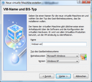 Installation VirtualBox von Sun Screenshot 6