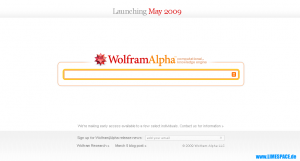 Suchmaschine Wolfram Alpha (Wolfram|Alpha)