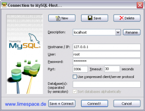 Heiei SQL verbindung zum Server