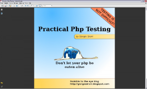 Kostenloses E-BOOK: Testen von PHP Anwendungen